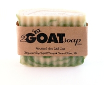 Our Grass Stain Bar is a new twist on a crisply scented soap. The fragrance is identical to freshly cut grass - a clean, crisp scent - that blends seamlessly with the swirl of green in the soap.